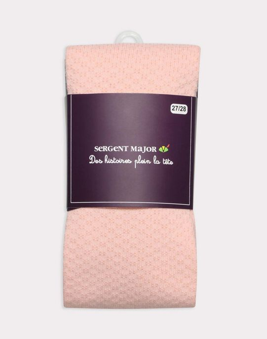Collant Rose  SIRUGETTE B / 19H4PF61COL413