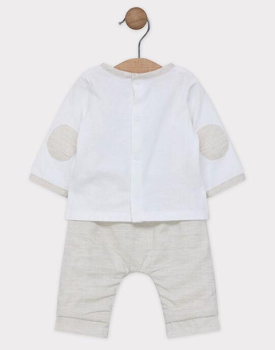 Ensemble tee shirt et pantalon SYANGUS / 19H0CG11ENS000