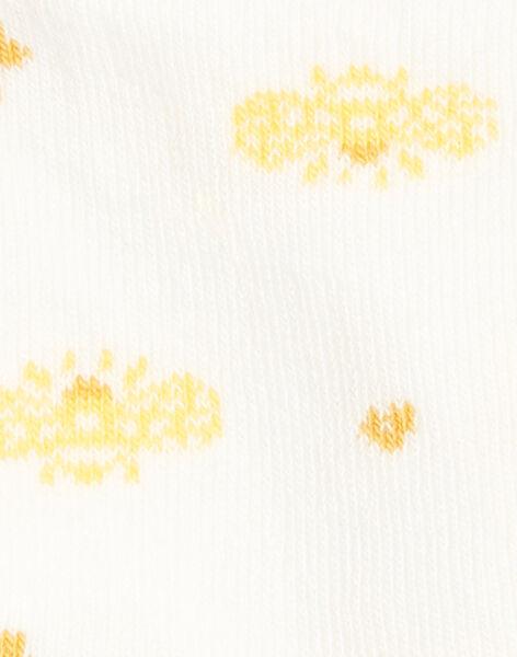 Chaussettes Ecrue ZEFOETTE / 21E4PF91SOQ001