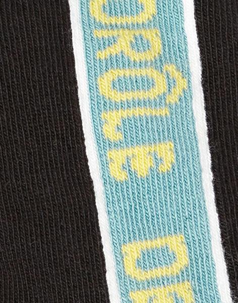 Chaussettes Noire ZAFAGE / 21E4PG91SOQ090