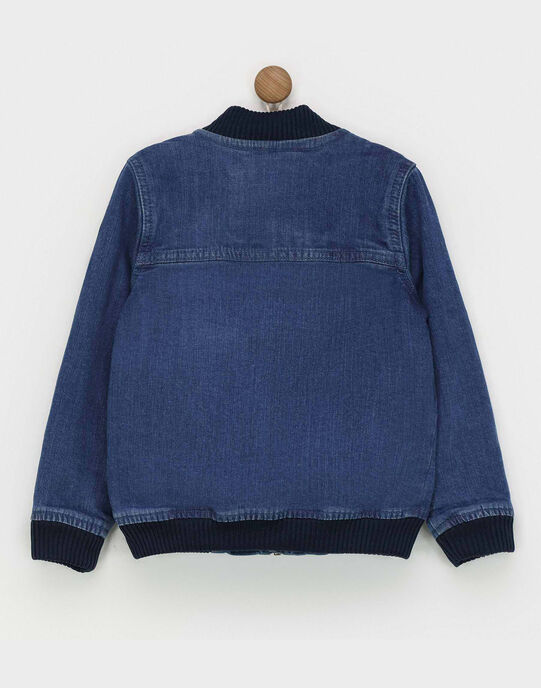 Blouson bleu jean REDRAGE / 19E3PGC1BLO704