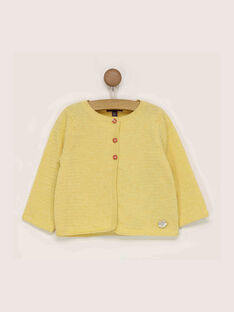Cardigan jaune  RADOLLY / 19E1BF61CARB105
