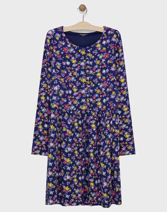 Robe imprimée à fleurs femme SIBANEF / 19H2FF41ROB070