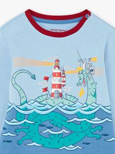 Ensemble pyjama motif dragon enfant garçon BIDRAGAGE / 21H5PG71PYJ020