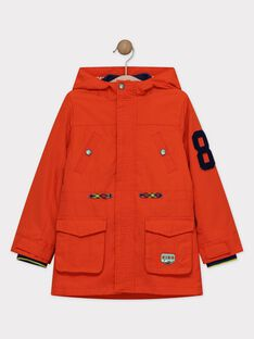 Imperméable Orange TAKAGE / 20E3PGB1IMP405