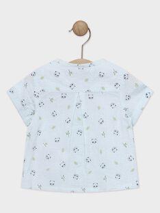 Chemise bébé garçon à carreaux imprimés  TAPAO / 20E1BGP1CHMC200