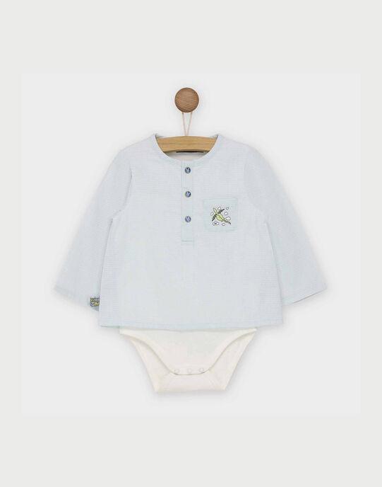 Body chemise bleu RAARTHUR / 19E1BG21BOD213