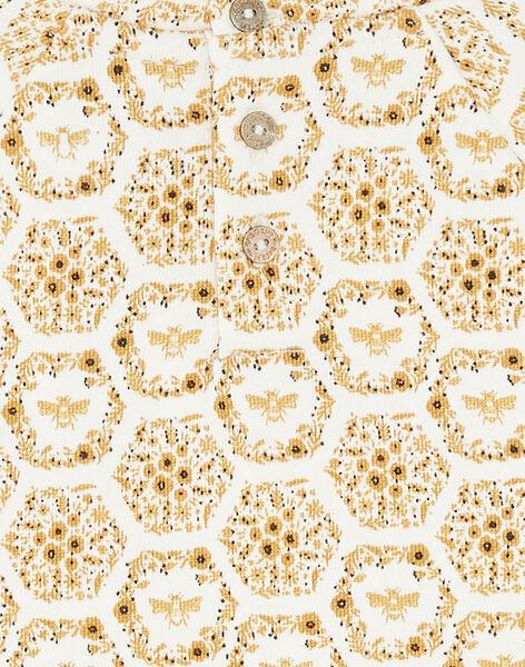 Sweat blanc imprimé floral ZESWETTE 1 / 21E2PF91SWE001