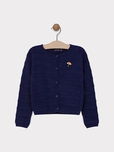 Cardigan en tricot fantaisie SIMORETTE / 19H2PF42CAR070