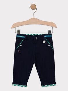Pantalon bleu marine bébé garçon  TALAMINI / 20E1BGH1PAN070