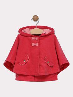 Cape avec veste sans manches intégrée bébé fille SIMAELLE / 19H1BF71CPED325