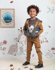 Pantalon esprit cargo camel enfant garçon BIBIFAGE / 21H3PGJ1PAN804