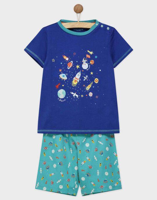 pyjama taille 2 ans avec des motifs espace