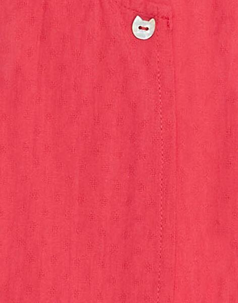 Combinaison fuchsia bébé fille  TUVACHATON / 20E0CFR1CBL304