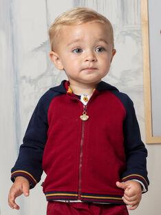 Haut de jogging à capuche bicolore bébé garçon BAFRED / 21H1BG51JGH070