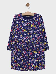 Robe manches longues doublée SIBANETTE / 19H2PF41ROB070
