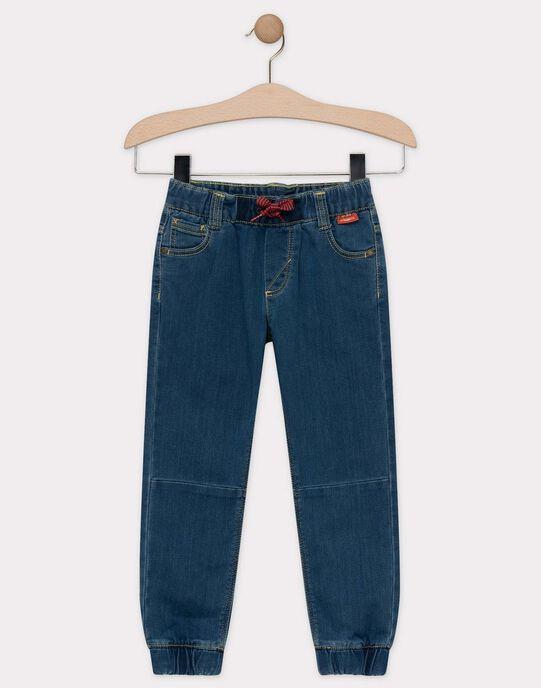 Jeans en denim stretch bleu moyen garçon  TUNITAGE 1 / 20E3PG91JEAP272