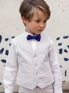 Gilet de costume beige enfant garçon TIGILAGE / 20E3PGJ1GSM808