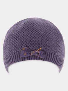 Bonnet Violet SAGERANDE / 19H4BF62BON712
