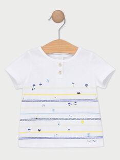 Tee Shirt Manches Courtes Ecru TANIOBE / 20E1BGO1TMC001