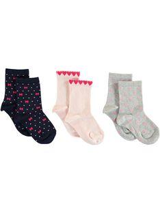 Lot de 5 paires de chaussettes petit enfant fille  VEJONETTE / 20H4PFC1LC5705