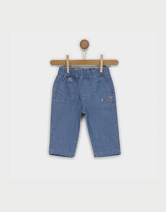 Jeans bleu jean RACLEMENT / 19E1BG61JEA704