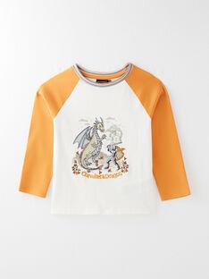 Tee Shirt Manches Longues Ecru VETIDAGE / 20H3PGR1TML001