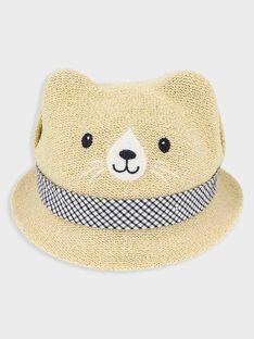 Chapeau beige bébé garçon TALATIF / 20E4BGH1CHAA010