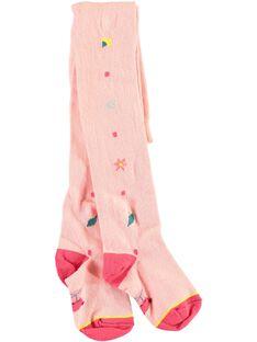 Collant rose à motifs petite fille TAFETTE / 20E4PFB1COL307