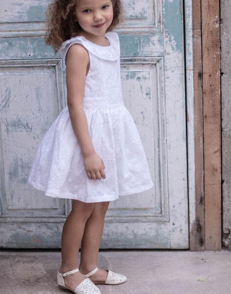 Sandales blanches pailletées enfant fille TYLAETTE / 20E4PFJ1CHT000