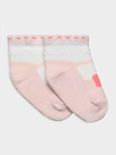 Chaussettes rose RYAUDE / 19E0AF11SOQ001