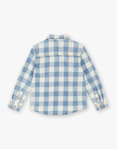 Chemise blanche à carreaux ZECIAGE / 21E3PGB1CHMC230