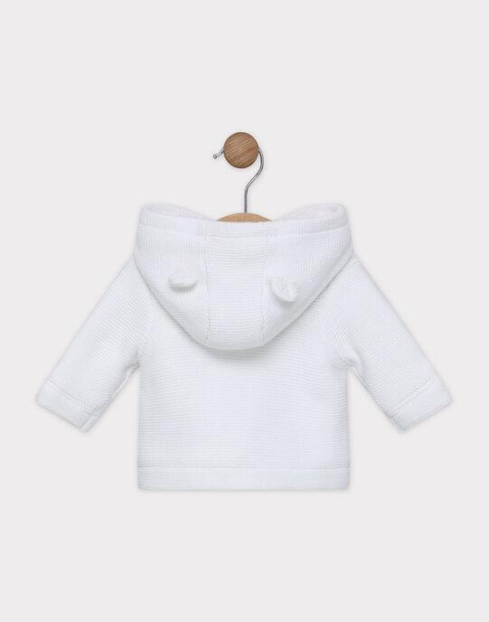 Veste en tricot point mousse SYARSENE / 19H0CM11VES000