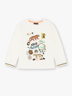 T-shirt à manches longues imprimé animal ZABIAGE / 21E3PG71TML009