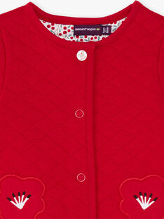 Cardigan imprimé fleuri bébé fille BAANOUK / 21H1BF12CARF505