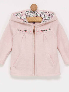 Cardigan rose PALAURIE / 18H1BFH2CAR301