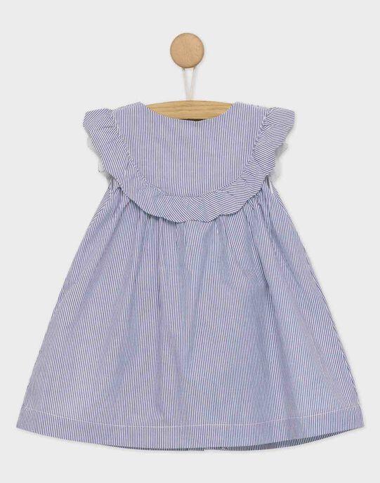 Robe chasuble bleu marine RAMATHILDE / 19E1BFE2CHS070