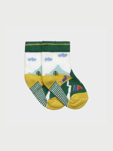 Chaussettes vert RACELLO / 19E4BG61SOQ001