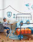 Drap / parure de lit bleue ROCHEVALTR / 19EZENX4PLR213