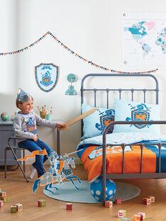 Parure de lit bleue - taie d'oreiller - 50x70 cm ROCHEVALTR / 19EZENX4PLR213