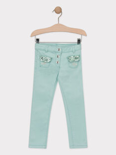 Pantalon Turquoise TIPAETTE / 20E2PFD1PAN202