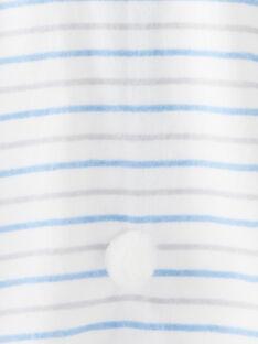 Cape de bain en éponge rayé bébé garçon VENATHAN / 20H5BG21CDB000