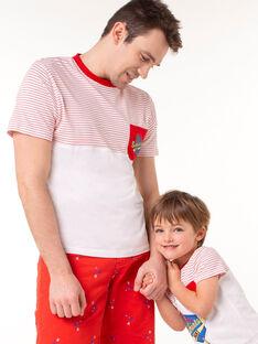 Tee Shirt Manches Courtes Blanc TEVIAGEM / 20E3GHN1TMC000