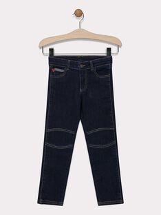 Jeans en denim foncé garçon SAMOJAGE 1 / 19H3PG91JEAK005