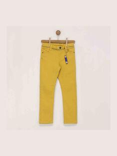 Pantalon jaune  RAXOAGE / 19E3PG62PANB106