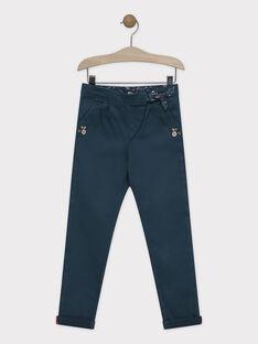 Pantalon coupe carotte en toile. SUDORETTE / 19H2PFC1PANG614