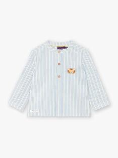 Chemise à rayures avec manches retroussables ZAIVON / 21E1BGI1CHM001