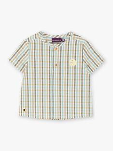Chemise à carreaux jaune et gris    ZACOCOEX / 21E1BG92CHM001