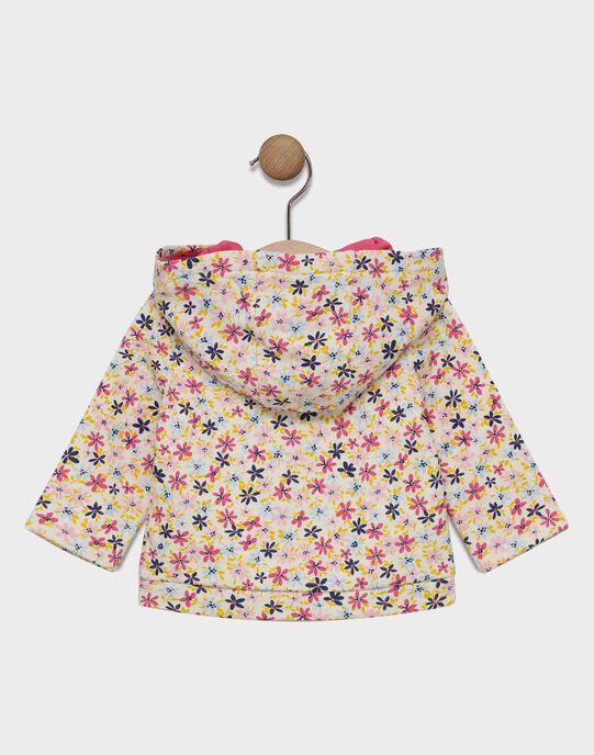 Veste de jogging AOP à capuche avec poche devant SAELIA / 19H1BF41JGHA011