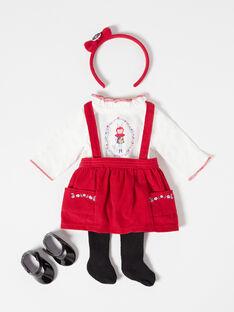 Habits poupées Rouge TENUE03 / 20J7GF11HPO502